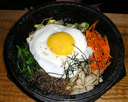 Bowl of Bi Bim Bap