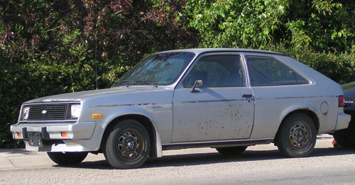 A Chevette Similar to Mine
