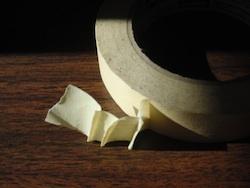 tape folds