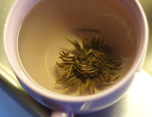 Chinese green tea monster